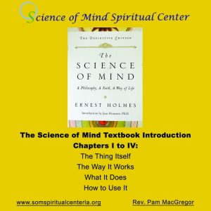 Science of Mind Spiritual Center Los Angeles - Science of Mind Textbook - Introduction - Tool Kit