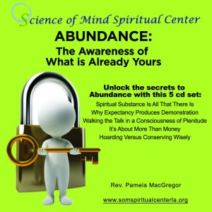 Science of Mind Spiritual Center Los Angeles - Abundance CD